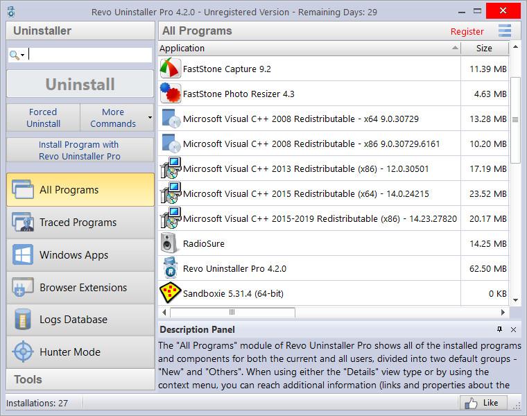 Revo Uninstaller Pro Crack 4.3.7 With Key [Latest 2021] Free Download