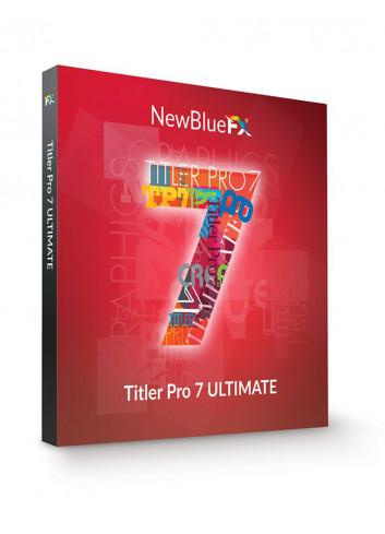 NewBlueFX Titler Pro 7 Ultimate 7.7.210515 Full Crack Download